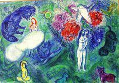 """Francesca Petri @francesca_petri  ·  23 gen """"Vado a ritrovare tua madre"""" #lucedestate @TwoReaders  (M.Chagall, Il Paradiso)"""