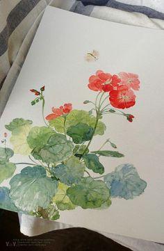 pretty watercolor
