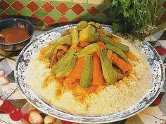 Cuscus marroquí (receta tradicional) - Taringa!