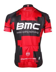 BMC Racing Short Sleeve Cycling Jersey - 2012 0c3c610cb