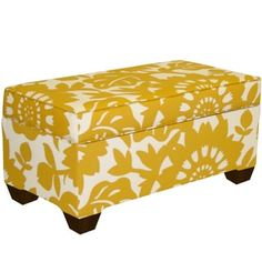 Shop for Skyline Furniture Storage Bench in Gerber Sungold. Get free shipping at Overstock.com - Your Online Furniture Outlet Store! Get 5% in rewards with Club O! - 17603817