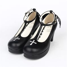 (51.62$)  Watch here  - 2015 Discount Round Toe Cute Fashion Princess Platforms Sweet Wing Gothic Hoof Women High Heels Japanese Style Lolita Shoes