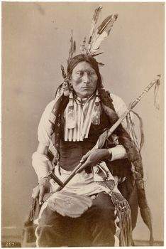 Iron Scare, (Blackfoot Sioux) 1872