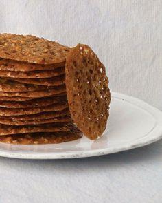 John's Pecan-Lace Cookies Recipe