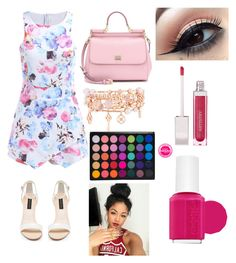 """""""Untitled #97"""" by vpiota ❤ liked on Polyvore featuring Forever New, Dolce&Gabbana, Henri Bendel and Essie"""