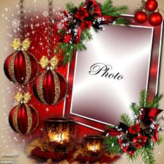Enhance your photos with Kimi templates. Christmas Picture Frames, Christmas Frames, Christmas Scenes, Picture Frame Decor, Christmas Photos, Birthday Photo Frame, Happy Birthday Frame, Happy Birthday Candles, Merry Christmas Gif