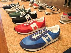 レトロなデザインが人気の「アルバトロス」(税別9,500円) Asics, New Balance, Mens Fashion, Fashion News, Converse, Sneakers, Jacket, Clothes, Slippers