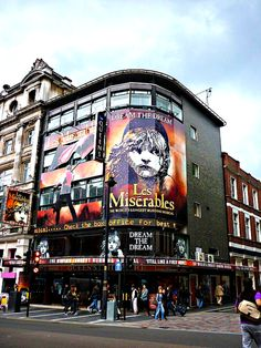 Let's go to London and see Les Mis....