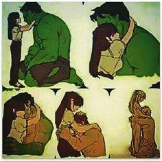 Anche l'uomo più forte del mondo ha bisogno di avere una donna al suo fianco quando la sua vita è un casino <3