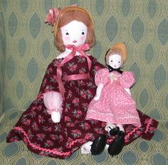 EFA dolls made by Jon Green from the collection of Kim Hayes. I love his work!!