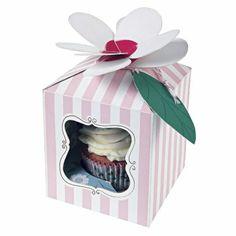 Meri Meri Pink I'm a Princess Small Cupcake Box - Set of Four Small Cupcakes, Sweet Cupcakes, Flower Cupcakes, Wedding Cupcakes, Amazing Cupcakes, Im A Princess, Princess Party, Pink And White Wedding Themes, Babyshower Party
