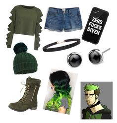 """""""Antisepticeye set 😁😋😝"""" by audreysepticgirl ❤ liked on Polyvore featuring WithChic, J.Crew, Miss Selfridge, Casetify and Humble Chic"""