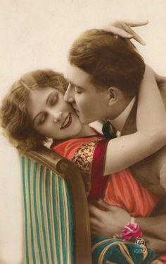 Vintage Couple,20s. / VintagePhotoAlbum