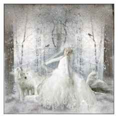 """""""Little Princess Of The Wolves"""" by lastchance ❤ liked on Polyvore featuring art"""
