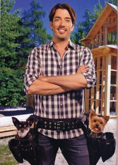 """The Smaller The Dogs, The Bigger the Man,"""" Says Property Brothers' Jonathan Scott Who Loves Little Dogs"""