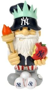 """New York Yankees Garden Gnome 11"""" Thematic - Second String - BiggSports.com"""