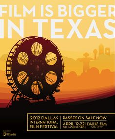 Make sure you buy your passes for the 2012 Dallas International Film Festival!