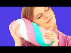 Visit Epic to watch DIY Marshmallow Pillows and discover more amazing learning videos for kids. Marshmallow, Makeup Vanity Case, Diy Throw Pillows, Diy Gifts For Girlfriend, Watch Diy, Pillows Online, Sun Hats For Women, Diy Crafts For Gifts, Stylish Bedroom
