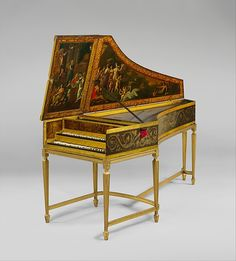 Harpsichord   Maker: Jan Ruckers (Flemish)   Date: 1642  Geography: Antwerp, Flanders, Belgium  Dimensions: L. 226.1cm (89in.)  Classification: Chordophone-Zither-plucked-harpsichord