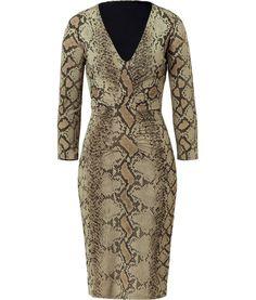 Roberto Cavalli Gowns   Roberto Cavalli Puff Sleaves Dress Navy, 40, Blue    Blue da578570e0