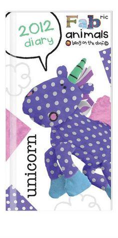 Unicorn Diary Fabric Animals, Recycled Fabric, Dinosaur Stuffed Animal, Unicorn, Recycling, Toys, Classic, Character, Activity Toys