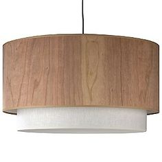 Woody Pendant by Lights Up! $684