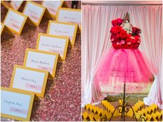 Pink, gold, sequin details & floral dance bodice | Bat Mitzvah | via Magnolia Bluebird design & events |Bethesda Country Club | Photojournalism by Rodney Bailey