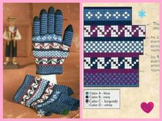 VK is the largest European social network with more than 100 million active users. Knitted Mittens Pattern, Knit Mittens, Knitting Patterns, Crochet Patterns, Gloves, Photo Wall, Burgundy, Wall Photos, Charts