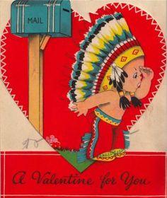 Vintage Valentine Museum Native