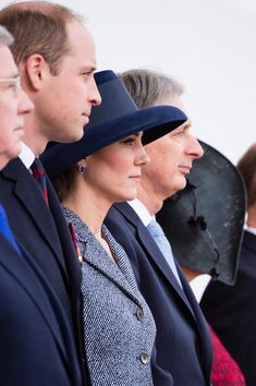 Prince William, Duke of Cambridge and Catherine, Duchess of Cambridge during the dedication and unveiling of The Iraq and Afghanistan memorial on March 9, 2017 in London.