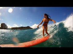 GoPro HD: Dreams with Kelia Moniz - Roxy Wahine Classic 2011. Oh how I miss the islands!!! Go Kelia:)