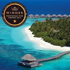 Dusit Thani Maldives has won the title of Most Prestigious Wedding Venue in the Prestigious Star Awards 2016. http://ift.tt/2dfoOyV #luxury #winner #maldives #DusitThaniMV