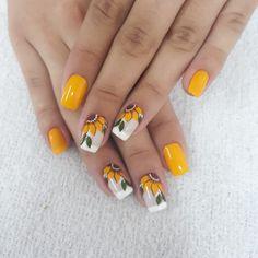 Cute Toe Nails, Fancy Nails, Trendy Nails, Best Acrylic Nails, Summer Acrylic Nails, Acrylic Nail Designs, Diy Yellow Nails, Yellow Nails Design, Wine Nails