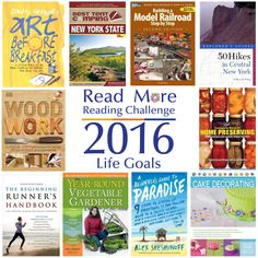 Is there something that you've always wanted to do but haven't? Here's your chance to read all about it. #readmore2016 #lifegoals