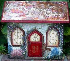 cottage style mail boxes | Patterns If you use a lot of watercolour (or watercolour style ...