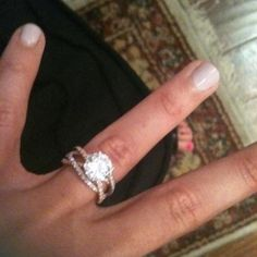 """Wedding ring made of 3 bands - """"a string made of three chords is not easily broken"""" to symbolize the relationship between husband wife and god"""
