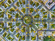 jeffrey milstein reveals the mesmerizing complexity of LA + NY from above
