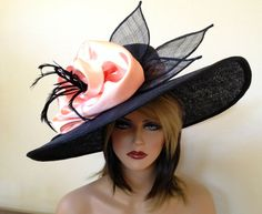 Kentucky Derby hat. Royal Ascot .Formal hat. by AnnettesCouture