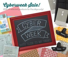 Cyber Week is Almost Here! Close To My Heart is offering almost 40 items that you can purchase at off ! Artfully Sent, Heart Place, Heart Crafts, Show And Tell, Close To My Heart, Big And Beautiful, Cyber, Cardmaking, Paper Crafts