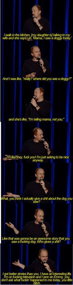 Louie CK everybody. #louieck #comedy #lol
