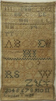 EARLY-19TH-CENTURY-ALPHABET-SAMPLER-BY-EASTHER-TWIGG-1836