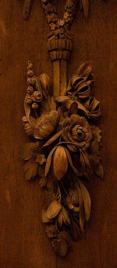 Carving, Grinling Gibbons by ghostwheel_in_shadow, via Flickr