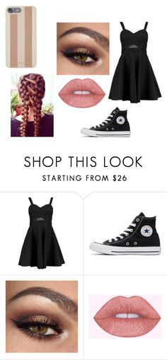 """Blake Casual"" by katminter ❤ liked on Polyvore featuring Boohoo, Converse and Michael Kors"