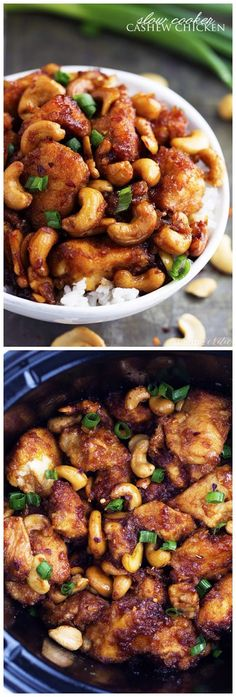 Slow Cooker Cashew Chicken - Quick Recipeez