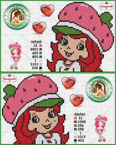 Olá meninas...   Estes gráficos são da Carina Cassol e Zaré Ponto X.