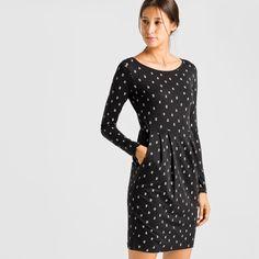 Elise Triangle Kleider Jersey Allover | ARMEDANGELS