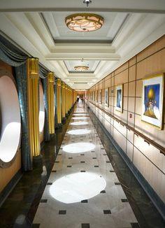 Disney Fantasy deck 3 corridor | Flickr - Photo Sharing!