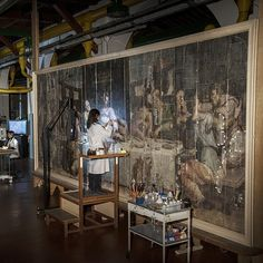 #Prada, in collaboration with Fondoambiente, pays tribute to #Florence by supporting Laboratorio dell'Opificio delle Pietre Dure in its restoration work of Giorgio Vasari's Last Supper, one of the works seriously damaged in the 1966 flood and the last one still requiring restoration and conservation by prada
