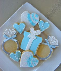 tiffany and company baby shower | ... Of Cookies For A Tiffany And Co Inspired Bridal Shower wallpaper
