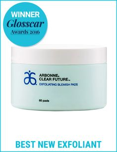 Glosscar Awards 2016 winners: Arbonne Clear Future Exfoliating Blemish Pads